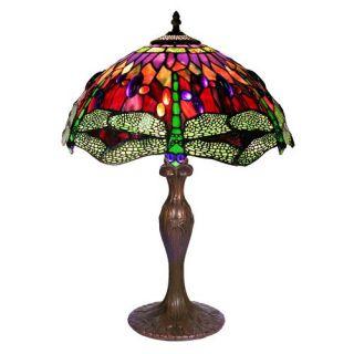 Tiffany Style Dragonfly Table Lamp   Table Lamps