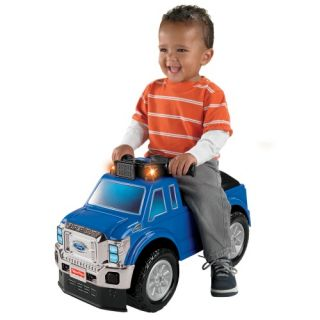 Fisher Price Ford Super Duty Truck Riding Push Toy   Pedal & Push Riding Toys
