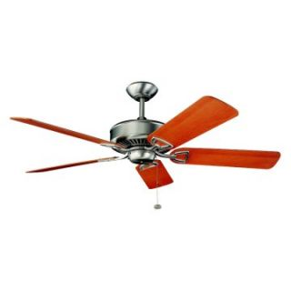 Kichler 300104NI Kedron 54 in. Indoor Ceiling Fan   Brushed Nickel   Energy Star   Ceiling Fans