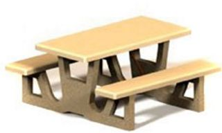 Petersen Commercial Cheyenne Picnic Table   Picnic Tables