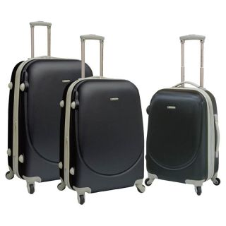 Travelers Club 3 Piece Hard Side Expandable Barnet Luggage Collection   Luggage Sets