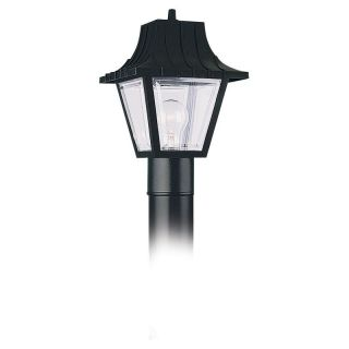 Sea Gull Outdoor 8275 Post Lantern   11H in. Black   Outdoor Post Lighting