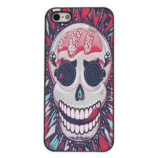 case   Scary Red Skull Pattern PC Hard Case with Interior Matte for iPhone 5/5S  Sports & Outdoors