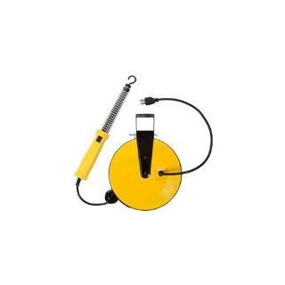 Bayco SL 864 60 LED Work Light on Metal Reel with 50 Foot Cord   Portable Work Lights