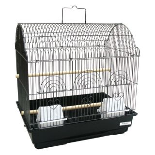 YML 3/8 in. Bar Spacing Barn Top Bird Cage   Bird Cages