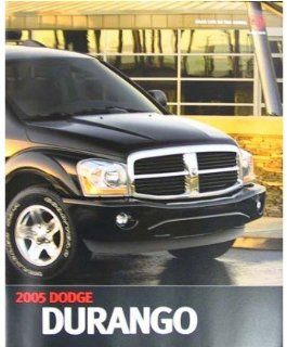 2005 Dodge Durango Sales Brochure Literature Advertisement Options Colors Automotive