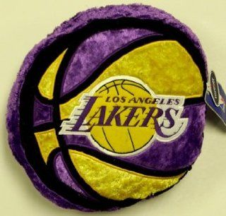 Los Angeles Lakers NBA Himo Plush Basketball Pillow  Sports & Outdoors