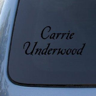 CARRIE UNDERWOOD   Vinyl Car Decal Sticker #1692  Vinyl Color Black Automotive