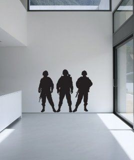 Vinyl Wall Decal Sticker Army Soldiers #852   Wall Decor Stickers