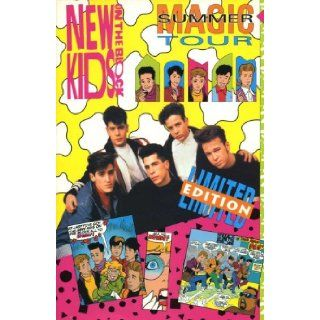 New Kids on The Block, Magic Summer Tour Limited Edition Harvey Comics Entertanment Books