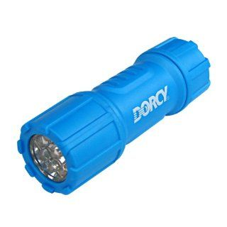 Dorcy 41 4240 Weather Resistant LED Flashlight with Lanyard, 28 Lumens, Assorted Colors   Basic Handheld Flashlights