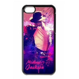 Michael Jackson Hard iPhone 5c back case designed by padcaseskingdom Cell Phones & Accessories