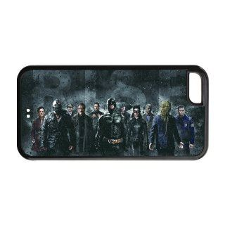 Back Hard Plastic Case TV Series Batman Printed Case Cover for iphone 5C DPC 10156 (2) Cell Phones & Accessories