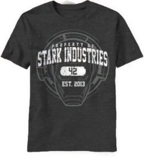 Marvel Men's Iron Man 3 Property Of Stark Industries T shirt Clothing
