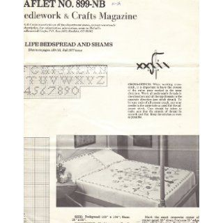 Tree of Life Bedspread and Shams   Cross Stitch Pattern (McCall's Needlework & Crafts Magazine, Fall 1977, Leaflet No. 899 NB) McCall's Needlework & Crafts Magazine Books