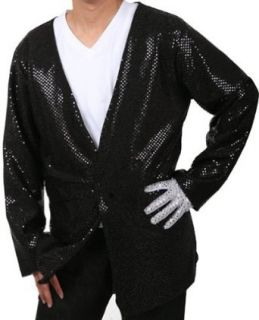 Adult Michael Jackson Billie Jean Costume Jacket Adult Sized Costumes Clothing