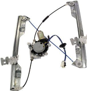 Dorman 741 906 Nissan Altima Front Driver Side Window Regulator with Motor Automotive