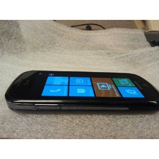 Samsung Focus I917 Unlocked Phone with Windows 7 OS, 5 MP Camera, and Wi Fi  No Warranty (Black) Cell Phones & Accessories