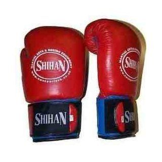 Shihan Training/Sparring Boxing Gloves RED  12oz Super Spa  Boxing And Martial Arts Forearm Guards  Sports & Outdoors