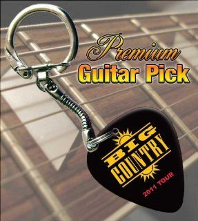 Big Country 2011 Tour Premium Guitar Pick Keyring Musical Instruments
