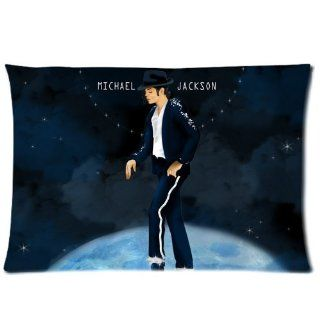 "Custom Michael Jackson Pillowcase 20""x30"" Pillow Protector Cover WPC 927"