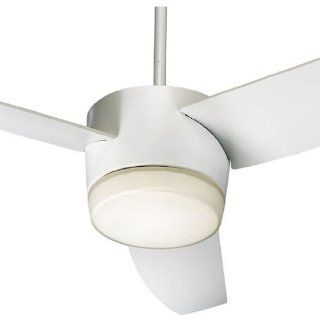 Quorum International 20543 908 Studio White Trimark Three Blade Down Lighting Indoor Ceiling Fan from the Trimark Collection
