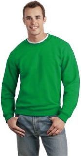 Crew Neck Sweatshirts For Men & Women   Crewneck Sweatshirt (Kelly Green) (Adult XX Large, Kelly Green) Clothing
