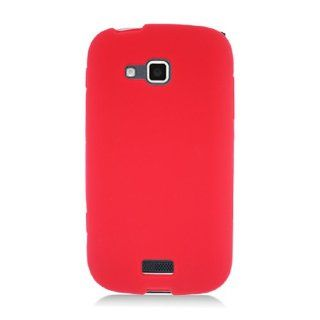 Samsung ATIV Odyssey i930 SCH I930 Red Soft Silicone Gel Skin Cover Case Cell Phones & Accessories