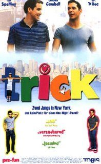 Trick [VHS] Christian Campbell, John Paul Pitoc, Tori Spelling, Brad Beyer, Lacey Kohl, Abbey Hope, Becky Caldwell, Kate Flannery, Steve Hayes, Will Keenan, Joey Dedio, Ricky Ritzel, Jim Fall, Anthony Bregman, Eric d'Arbeloff, Mark L. Beigelman, Mary