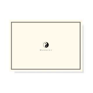 Yin Yang Note Cards (Stationery, Boxed Cards) Peter Pauper Press 9781441306302 Books