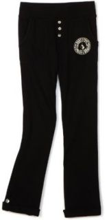 Baby Phat   Kids Girls 2 6X Roll Up Pant, Black, 4 Clothing