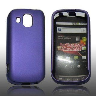 NEW PURPLE Rubberized Hard Case Cover Skin For Boost Mobile Samsung SPH M930 Cell Phones & Accessories
