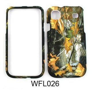 Samsung Vibrant T959 Camo/Camouflage Hunter Series, w/ Dry Leaves Hard Case/Cover/Faceplate/Snap On/Housing/Protector Cell Phones & Accessories