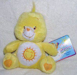 "2003 Care Bears 7"" Plush Sitting Funshine Bear Toys & Games"