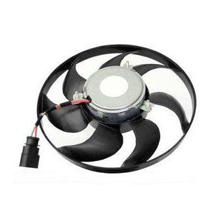 VW (05 11 Auxiliary radiator cooling Fan RIGHT 200w BEHR electric engine cooler Automotive