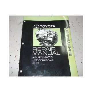 2003 Toyota ECHO AUTOMATIC TRANSAXLE Service Shop Repair Manual U340E U341E toyota Books