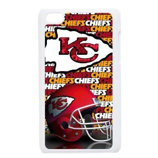 Custom NFL Kansas City Chiefs Hard Back Cover Case for iPod Touch 4th IPT956 Cell Phones & Accessories