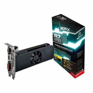 XFX AMD Radeon R7 250 1GB GDDR5 VGA/DVI/HDMI Low Profile PCI Express Video Card Computers & Accessories