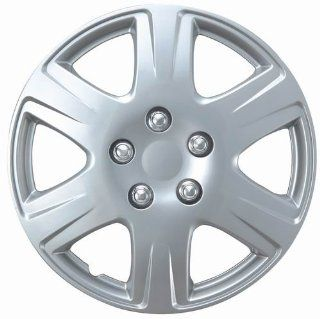 "Drive Accessories KT 993 15S/L, Toyota Corolla, 15"" Silver Replica Wheel Cover, (Set of 4) Automotive"