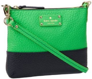 Kate Spade New York Grove Court Tenley PWRU2759 Cross Body, Shamrock/True Navy, One Size Clothing
