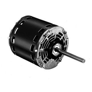 "Fasco D974 5.6"" Frame Open Ventilated Permanent Split Capacitor Direct Drive Blower and Unit Heater Motor with Sleeve Bearing, 1/2 1/3 1/4HP, 825rpm, 277V, 60Hz, 2.3 1.6 1.3 amps Electronic Component Motors"