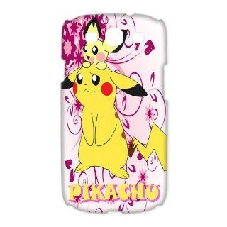 Custom Pikachu 3D Cover Case for Samsung Galaxy S3 III i9300 LSM 2835 Cell Phones & Accessories