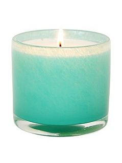Alassis No.7 Lotus and White Tea Small Art Glass Candle   Scented Candles