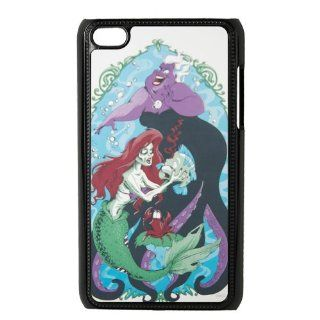 LADY LALA ipod touch 4 case, Zombie Little Mermaid ipod touch 4 hard plastic back cover case Cell Phones & Accessories