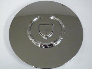 Cadillac Seville, Deville, El Dorado, DTS Chrome Wheel Center Cap with Chrome Wreath and Crest Automotive