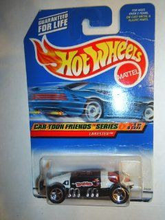 Hot Wheels Mattel 1997 Car Toon Friends Series #4 of 4 Lakester Die Cast Car Collector #988 164 Scale Toys & Games