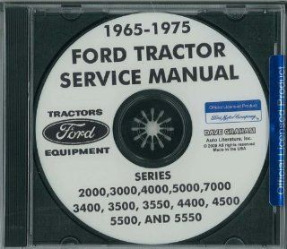 1965 1975 FORD TRACTOR 2000 7000 Service Manual CD Automotive