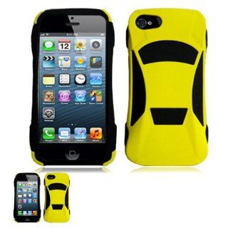 IPhone 5 Special Yellow Car Laser Cut Design Case + Free Long Neck Strap Band Lanyard Cell Phones & Accessories