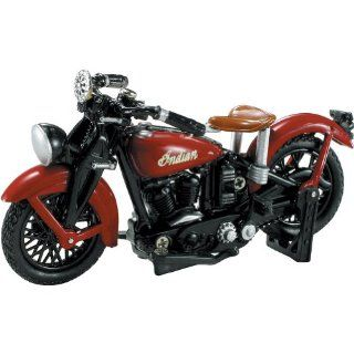 New Ray 1937 Indian Junior Scout Replica Motorcycle Toy   132 Scale Automotive