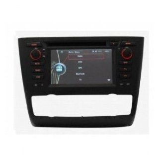 Titantech For BMW 1 Series E87 In Dash DVD GPS Navigation System, Navigator(Free map), Build In Bluetooth, Analog TV, AUX&USB, Radio with RDS, Phone/iPod Controls, rear view camera input, Steering Wheel Control  Vehicle Dvd Players